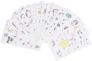 Beaupretty 1 Set Kinderen Tijdelijke Tattoo Stickers Eenhoorn Transfer Stickers Ster Body Art Been Arm Decals Voor Meisje ...