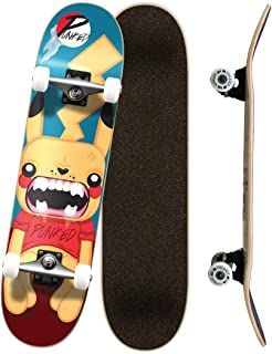Yocaher Punked Complete Skateboards 7.75