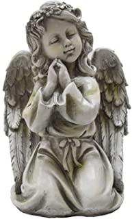 angel with children statue