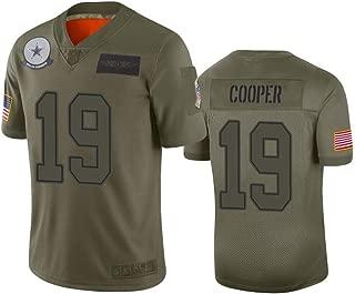 Men's Dallas Cowboys #19 Amari Cooper Camo 2019 Salute to Service Limited Jersey