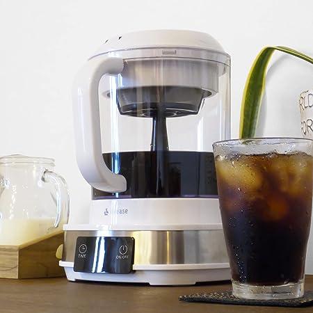 【アウトレット新品/箱傷・潰れ】電動水出しコーヒーメーカー livease/リヴィーズ CB-011W たった20分でコールドブリューコーヒーを抽出! cold brew coffee CB-011W-OL