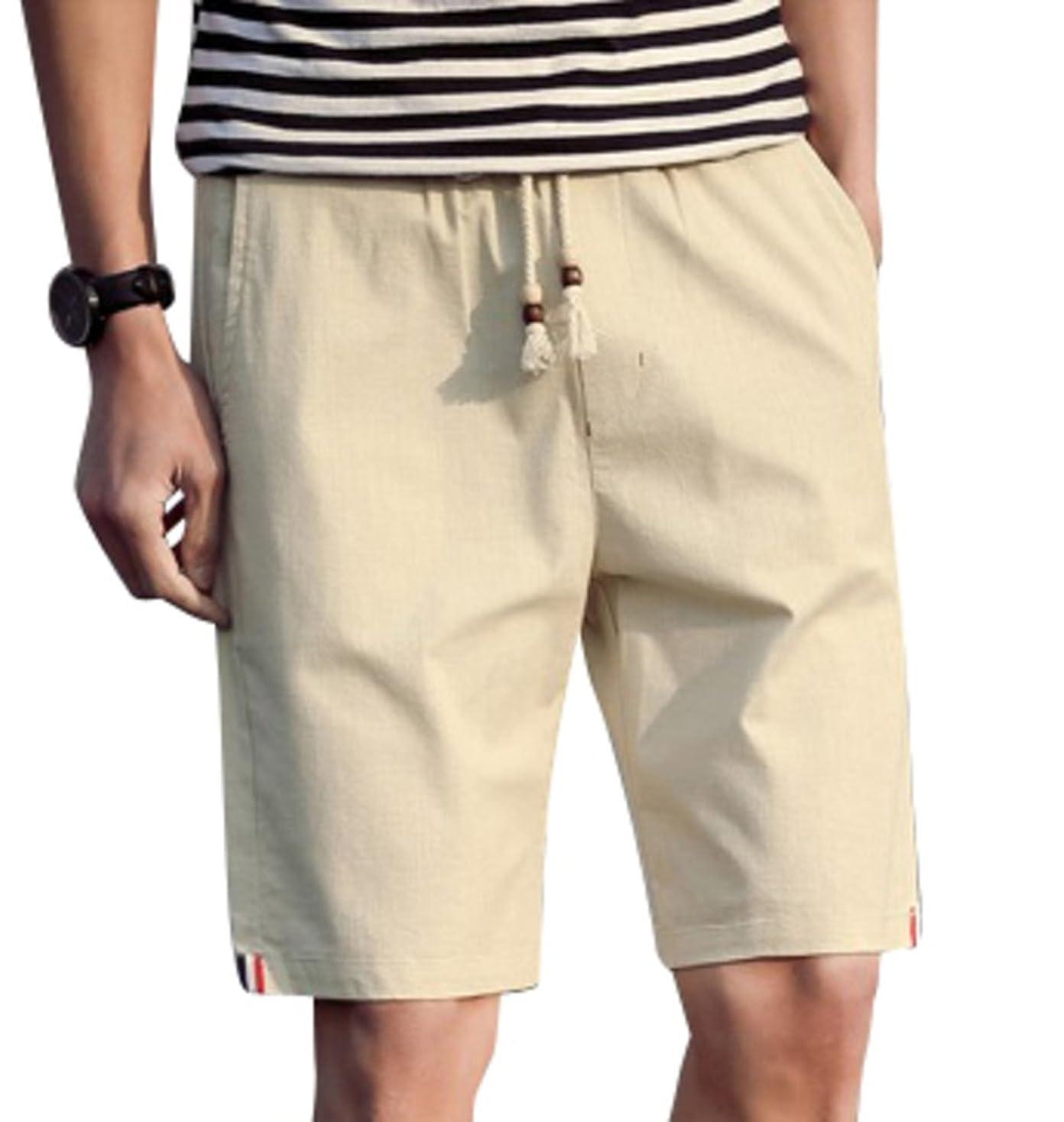 注ぎますダンプ前任者[アルファーフープ] メンズ 5 分 丈 ハーフ ショート パンツ 無地 柄 短パン 半 ズボン 大きい サイズ T78