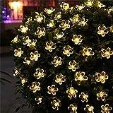 The Purple Tree Flower LED String Light for Diwali, Christmas and Weddings (1 pc, 16 Flower, 3 mtr) Flower 3D Light, Diwali Light, Christmas Light, Romantic Light Decoration