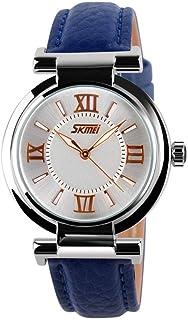 Delicate Women's Wrist Watches Women Analogue Quartz Watch Women's Watch Rhinestone Watch Waterproof Watch,Colour Name:Pin...