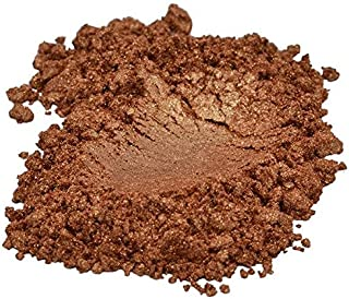 Bronze / Golden / Brown Luxury Mica Colorant Pigment Powder by H&B OILS CENTER Cosmetic Grade Eyeshadow Effects for Soap Candle Nail Polish 1 oz