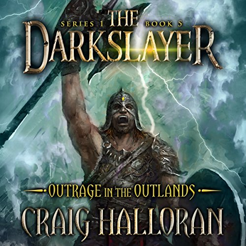 Outrage in the Outlands audiobook cover art