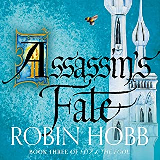 Assassin's Fate audiobook cover art