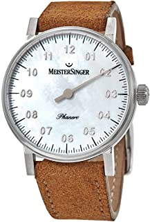 MeisterSinger - Phanero PHM1C Reloj con sólo una Aguja Clásico & Sencillo