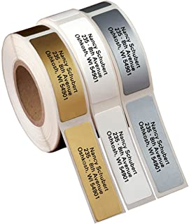 Personalized Self-Stick Address Labels 200 - Gold