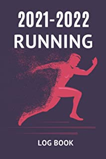 2021-2022 Running Journal Book: Fitness tracker for runners, Two years calendar and planner all in one   Track your daily ...