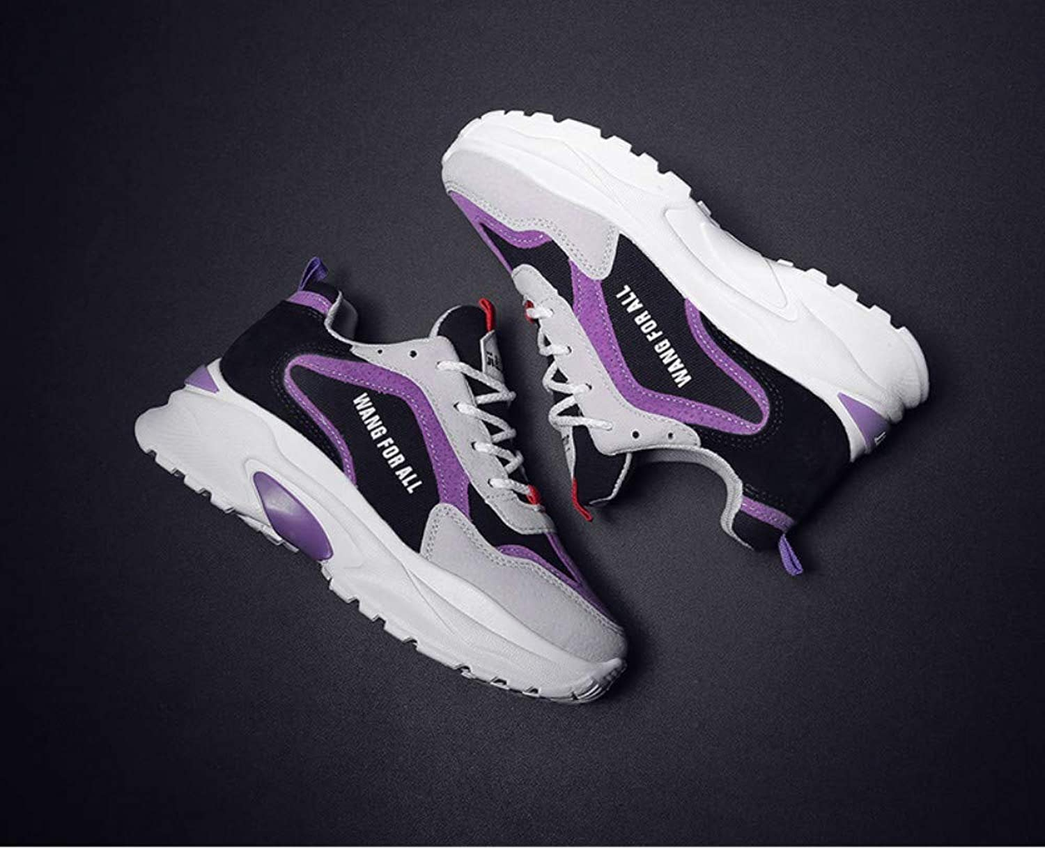 ZHIJINLI Sports shoes small white shoes single shoes training shoes casual shoes fitness shoes mesh lightweight safety shoes, 36EU