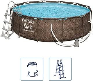 Bestway Piscina Desmontable Steel Pro Max Deluxe 366x100 Cm