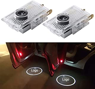 ZJJUN 2 PCS LED Car Door Welcome Logo Car Brand 3D Shadow Lights for Opel Insignia