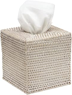 KOUBOO 1030036 Square Rattan Tissue Box Cover, 5