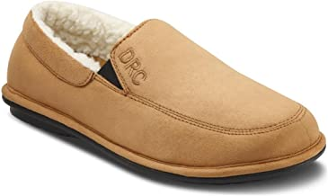Dr. Comfort Men's Relax Camel Diabetic Slippers