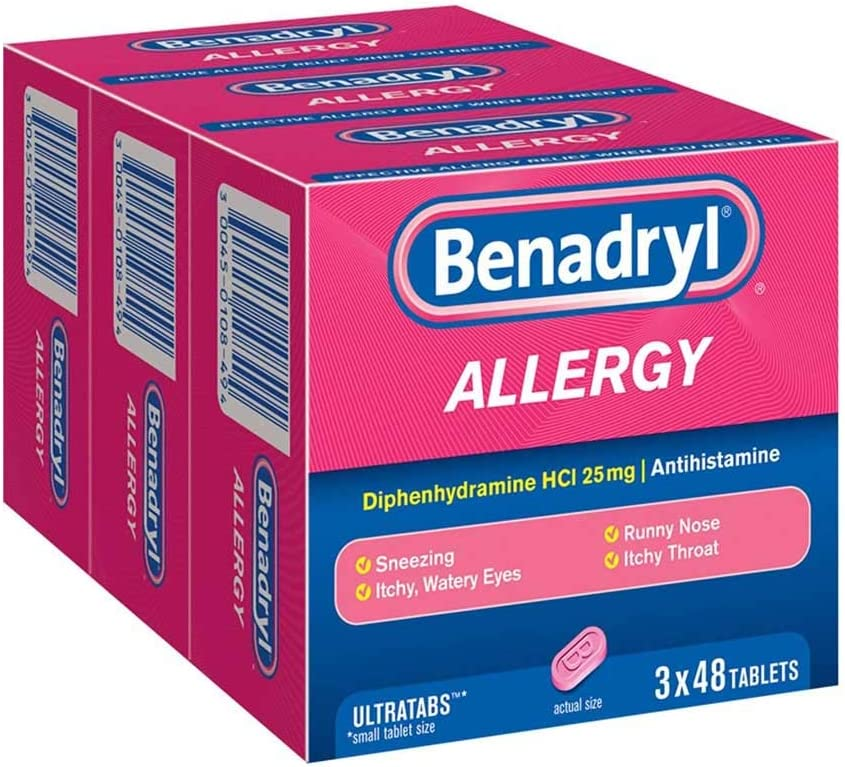 Benadryl Allergy Cheap mail order specialty store Ultratab 144Count Tablets Gorgeous iiiIII