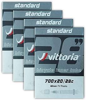 Vittoria Lite Inner Tube Bundle 700x20-28c Presta 80mm Presta Valve - 4 Pack