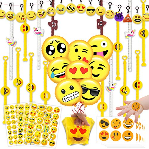 Emoji Party Favors (258 Items)