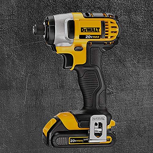 DEWALT 20V Max Impact Driver Kit, 1/4-Inch (DCF885C1)