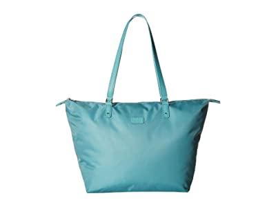 Lipault Paris Lady Plume Tote Bag M (Coastal Blue) Bags