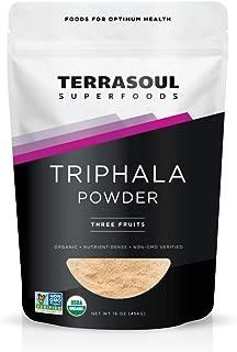 Terrasoul Superfoods Organic Triphala Powder, 1 Pound