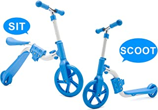 scooter with adjustable seat height