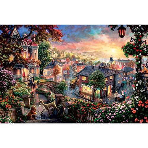 Ingooood- Jigsaw Puzzle 1000 Pieces- Fantasy Series- Disney Morning Light_IG-0865 Entertainment Wooden Puzzles Toys
