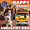 Hemp Dog Chews and Calming Treats for Dogs with Anxiety and Stress - Natural Calming Aid - Separation - Fireworks - Storms - Aggressive Behavior - 180 Calming Chews for Dods for Hip and Joint Health #5