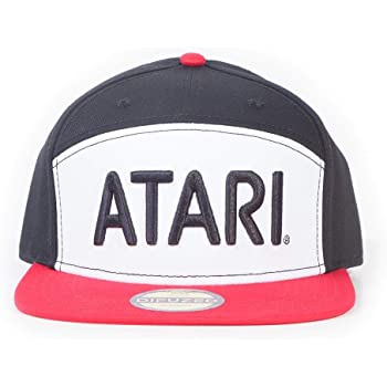 Oficial ATARI Gorra de béisbol con logotipo Retro Gorra Sombrero de juegos de Calidad Regalo