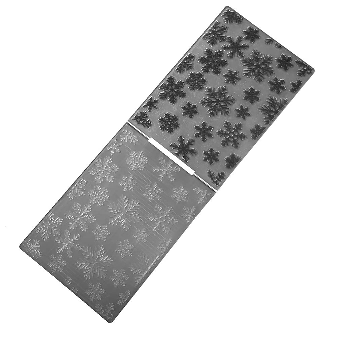 Snowflake Butterfly Plastic Embossing Folders for Card Making Scrapbooking Paper Crafts Template (O24-4)