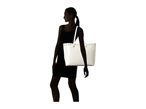 Edelman Scallop Sam Pearl Viola bolso blanco brillante q6gyOv