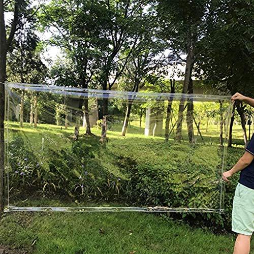LHQ General Lona Transparente Vinilo Cortina al Aire Libre Impermeable Aislamiento de Calor a Prueba de Viento de Techo Fino ecologante residencial jardín agrícola