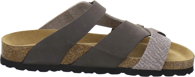 AFS 2122 Chaussons confortables Pour femme Chaussures de travail Chaussons mules /à talons en cuir AFS-Schuhe