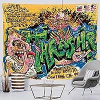 タペストリーシーンキャラクターホームアート装飾タペストリーボヘミアン装飾チョウセンアサガオシート150x200cm