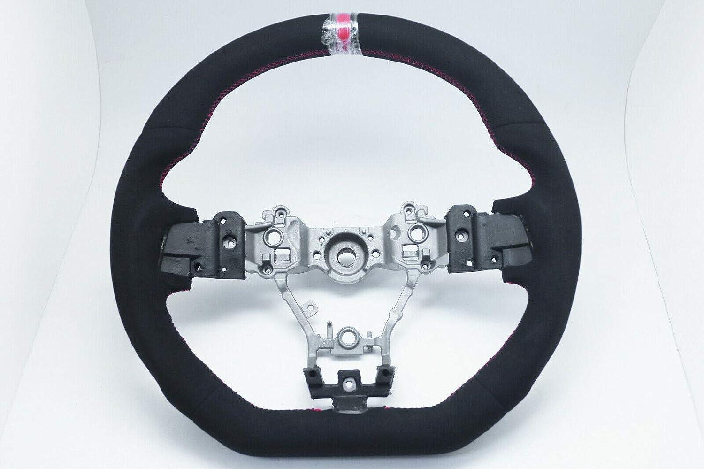 Gazoz Performance D-Shape Whole Alcantara Many popular brands Cheap super special price W Stripe Steering Red