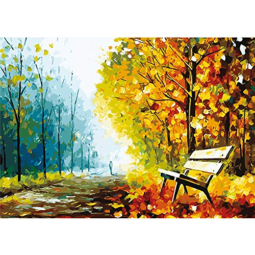 1000 Piece Puzzles Jigsaw Puzzle for Adults or Kids - Late Autumn Puzzles