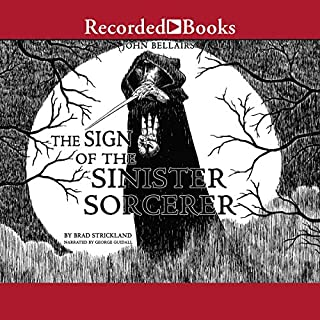 The Sign of the Sinister Sorcerer audiobook cover art