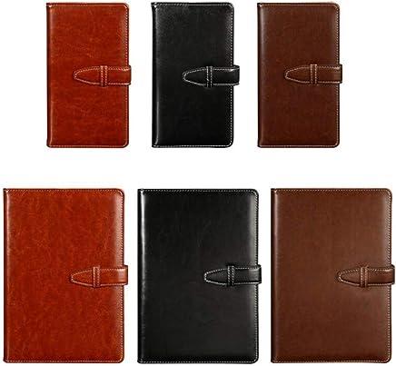 Notebook Student 6 Piezas Set A5 Hebilla Papel Plano Business Business A6 Reunión De Oficina Con Cuero Creative Notebook