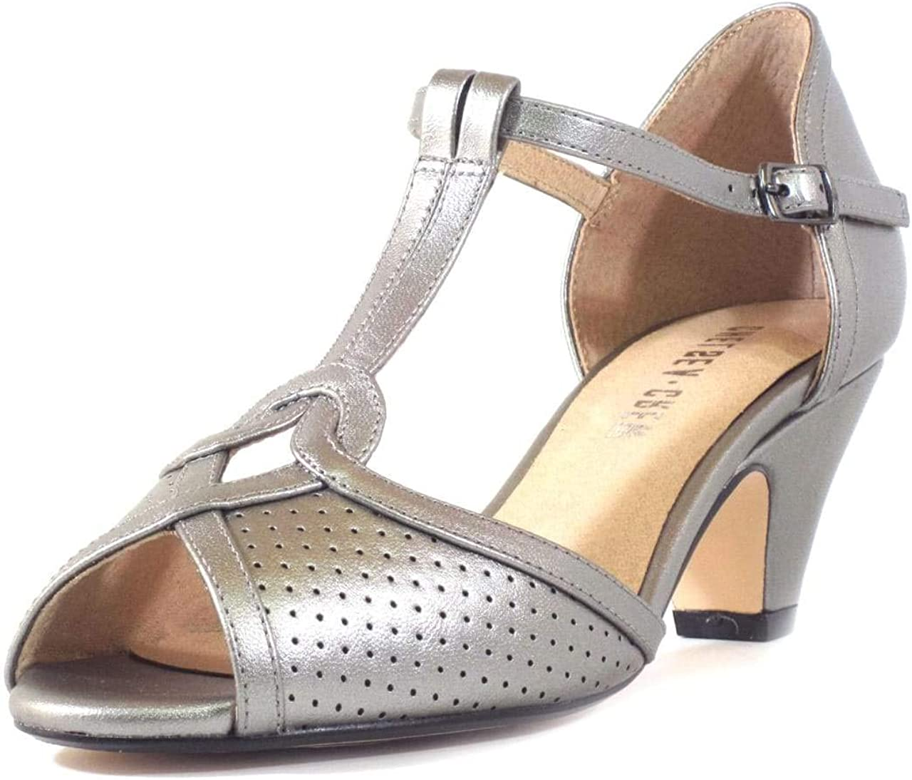1950s Style Clothing & Fashion Chelsea Crew Nancy Womens T-Strap Heels  AT vintagedancer.com