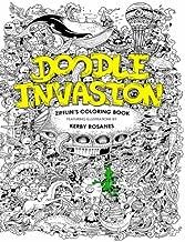Doodle Invasion: Zifflin's Coloring Book (Volume 1)