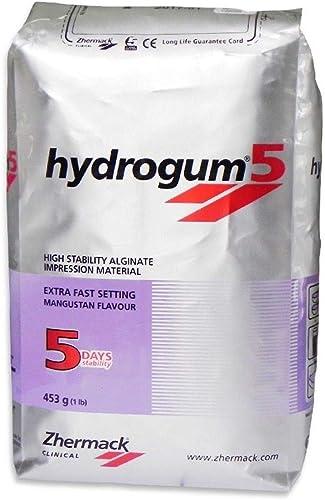 ZHERMACK Hydrogum 5 Extra Fast Alginate #C302070 1 Lb. Bag (1)