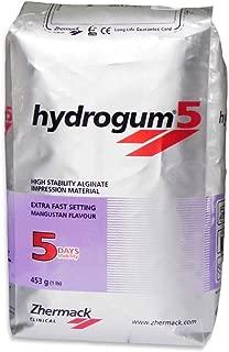 ZHERMACK Hydrogum 5 Extra Fast Alginate #C302070 1 Lb. Bag