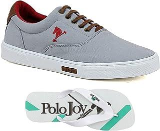 Kit 1 Tênis Casual E 1 Chinelo Polo Joy