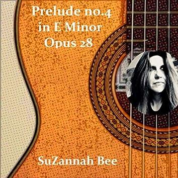 Prelude No. 4 in E Minor, Op. 28 (Arr. for Guitar)