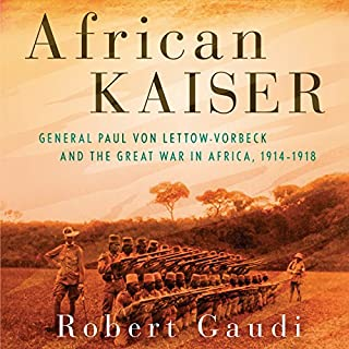 African Kaiser audiobook cover art