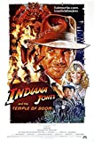 "Posters USA Indiana Jones and the Temple of Doom Movie Poster GLOSSY FINISH - MOV062 (24"" x 36"" (61cm x 91.5cm))"