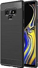ebestStar - Funda Compatible con Samsung Note 9 Galaxy Carcasa Silicona Gel, Protección Diseño Fibra Carbono Premium Ultra Slim Case, Negro [Aparato: 161.9 x 76.4 x 8.8mm, 6.4'']