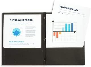 Best black folders with fasteners Reviews