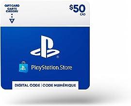 $50 PlayStation Store Gift Card - CANADA [Digital Code]