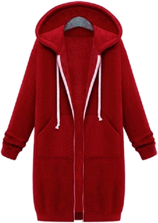 Autumn Winter Long Our shop OFFers the best service Sweatshirt Coat Casual Minneapolis Mall Zip Fashion Women